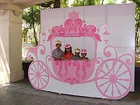 Fairy Princess theme Chariot photo booth